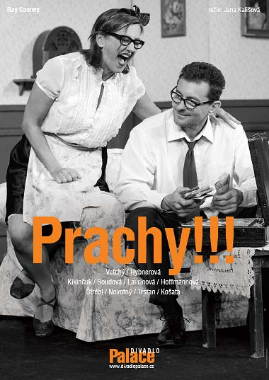 Upoutávka na divadelní představení Prachy