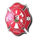 Logo dobrovolných hasičů Vintířov